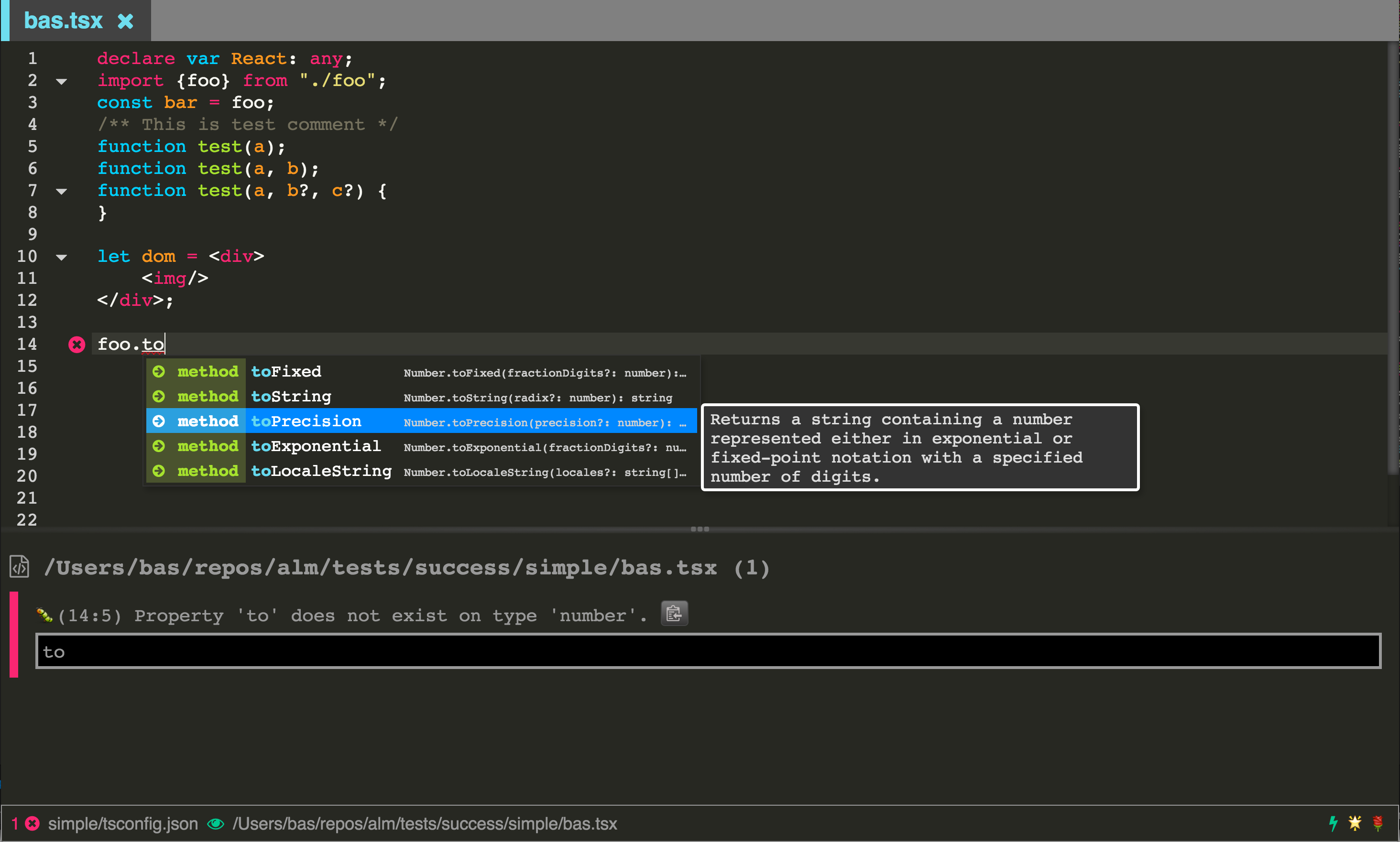 ALM Tools for TypeScript & Instagram